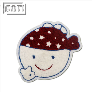 Embroidered Patches Cartoon Cute Girl Embroidery Patch Towel Embroidering Patches