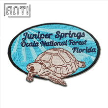 Durable Embroidered Patches Cartoon Embroidery Patch for Coats Animal Patch