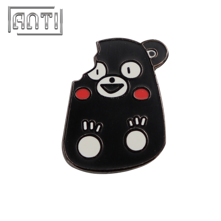 High Quality Cartoon Enamel Badge Kumamon Lapel Pins for Kids