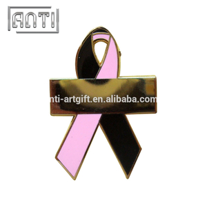 two-tone mark zinc alloy hard enamel pin