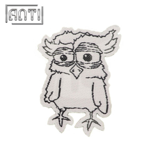 Owl Embroidery Pattern Embroidery Patch Jeans